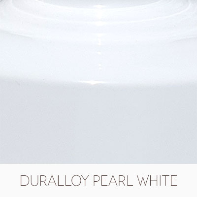 Dulux Duralloy Pearl White Gloss Powdercoat Colour