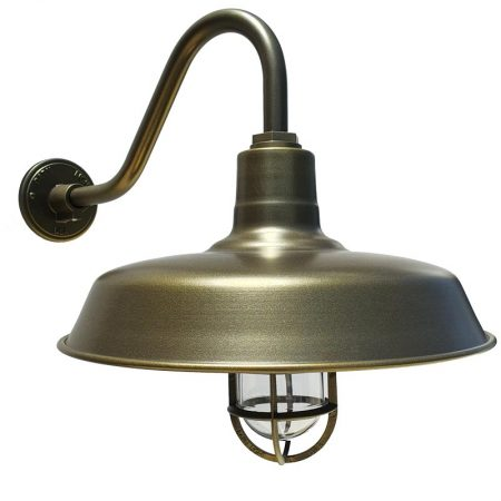 barn light 40cm original gooseneck barn light wall light electro tiberius flat sg16 sconce gooseneck arm standard cast guard