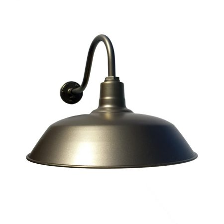 barn light 50cm original gooseneck barn light wall light electro tiberius flat g15 gooseneck arm