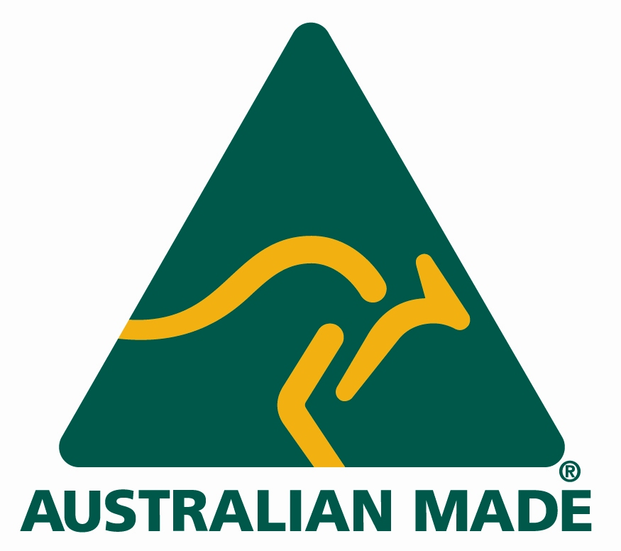 The product has been manufactured here (not just packaged) and 50% or more of the cost of making it can be attributed to Australian materials and/or production processes. Copyright: Australian Made Foundation