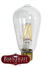 Enjoy vintage style with our Nostalgic Edison style light bulbs. Add a warm (Tungsten) light to any residential or commercial space with these bulbs. Delightfully coupled with the energy saving features of integrated LEDs to serve your feel-good inner greenie vibes.