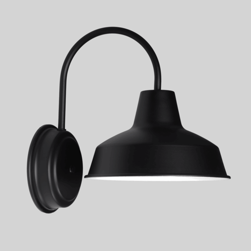 25cm Austin Wall Sconce in Electro Black Ace   This Black Austin Wall Sconce is Australian Made in Victoria