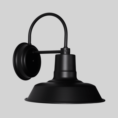 30cm Original Wall Sconce in Black Ace