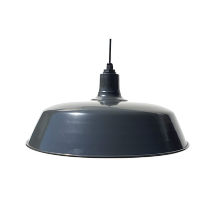 60cm Original Barn Pendant in Colorbond Monument Satin
