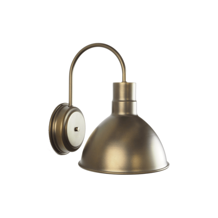 25cm Wesco Wall Sconce in Tiberius Flat