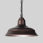 Copper Warehouse Shade Chain Hung