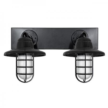 AU-W-VSATOMWH_CGG_atomic_warehouse_vanity_sconce_in_pc100_black_matt_standard_cast_guard_clear_crackle_glass
