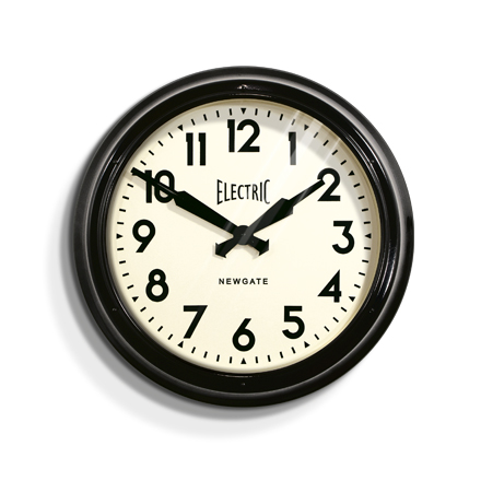 The 'Electric' range by Newgate is an iconic recreation of the originals and one of the most recognised designs throughout the clock world - Barn Light would like to expand upon that by offering Newgate Clocks in Australia!